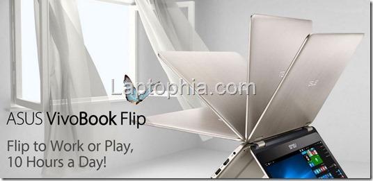 Harga Spesifikasi Asus VivoBook Flip TP301UJ