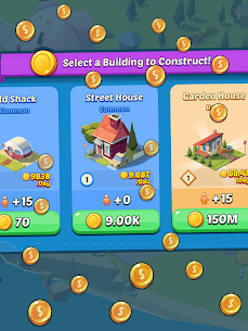 Idle City Empire MOD (Unlimited Gems/Coins) 6