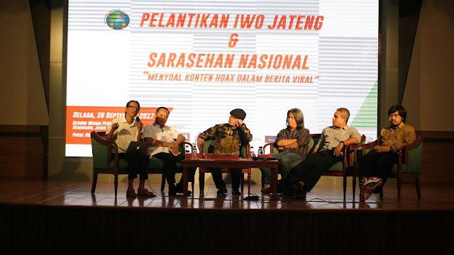 Resmi Dilantik, Ini Susunan IWO Jateng 2017-2022