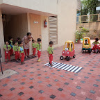 Street Safety Rules in Nursery (2014-15) at Witty World