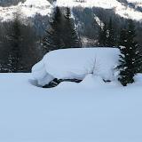 A bisserl Schnee auf da Krangler Oim!