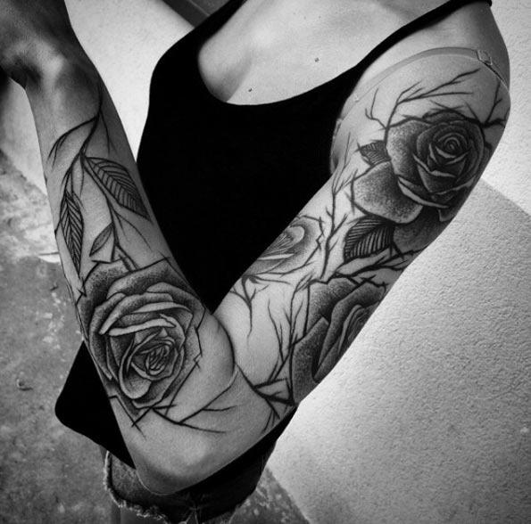 estes_esboço_estilo_rosas