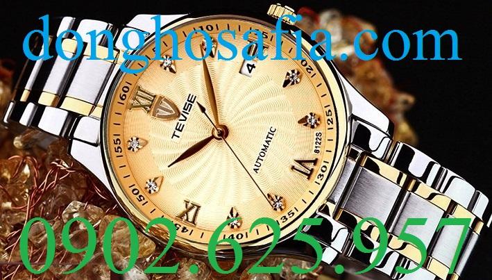 Đồng hồ nam cơ Tevise 8122S TV001