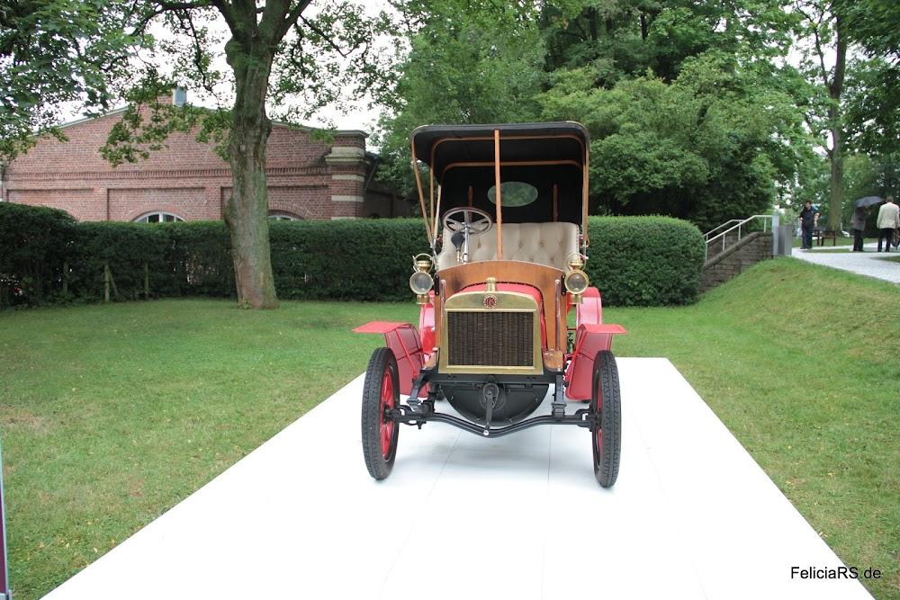 der erste Škoda PKW Laurin & Klement Voiturette Typ A 1905 1Liter Hobraum und 7PS