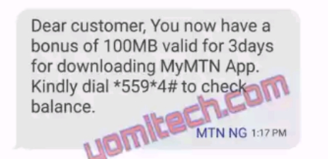 MTN Is Giving Out Free 150MB Data To It'sCustomers, How To Get Yours