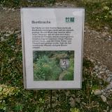 Табличка-объяснялка рядом с гостиницей для насекомых