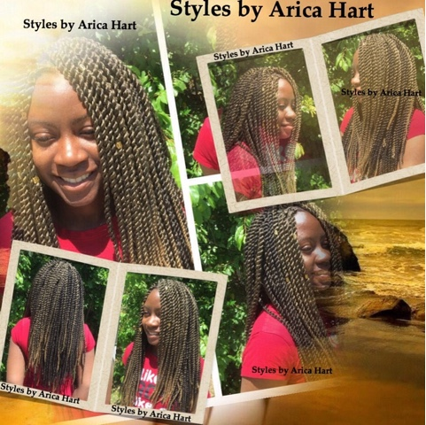 You can get a beautiful Crochet braid Hair Styles by Arica Hart. This ...