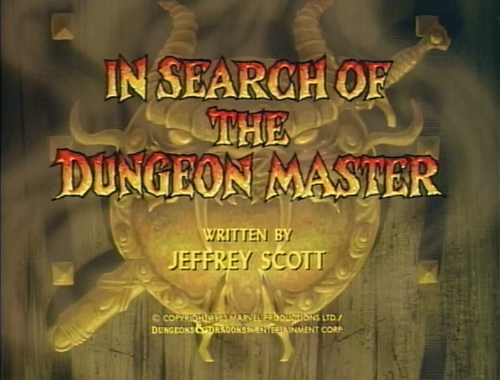 In Search of the Dungeon Master title card