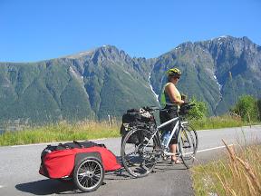 Klar for 3 dagers sykkeltur via Norangsdal og Hellesylt til Geiranger og tilbake til Ålesund