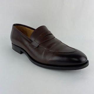Jack Erwin NEW Ombré-Toe Penny Loafers