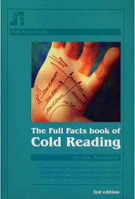 Cover of Ian Rowlands's Book The Full Facts Book Of Cold Reading