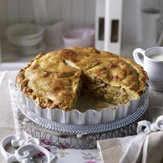 Almond Apple Pie.