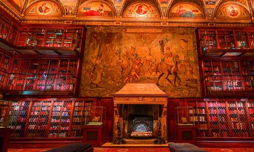 現代の図書館エスケープ