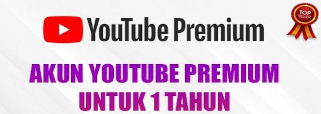 Youtube Premium Untuk 1 Tahun Bergaransi