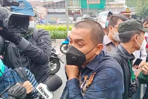 Lagi, Kuasa Hukum Habib Rizieq Dihadang Polisi Tidak Bisa Masuk PN Jaktim