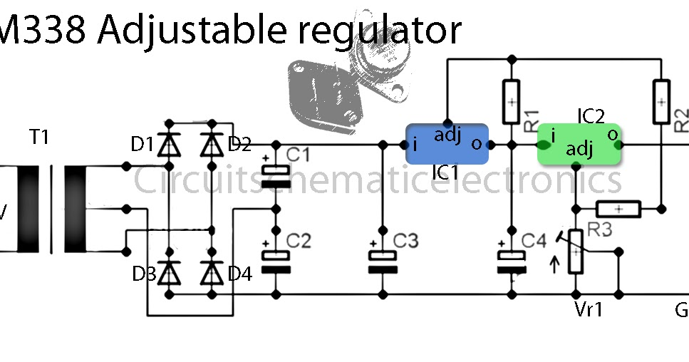 0 30v Dc Power Supply Diy Schematic Power Supply LM324