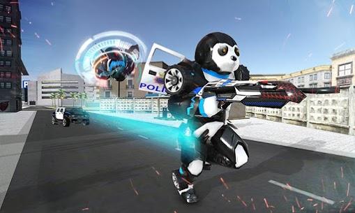 Panda Robot Car Game: Police Car Robot Transform 1