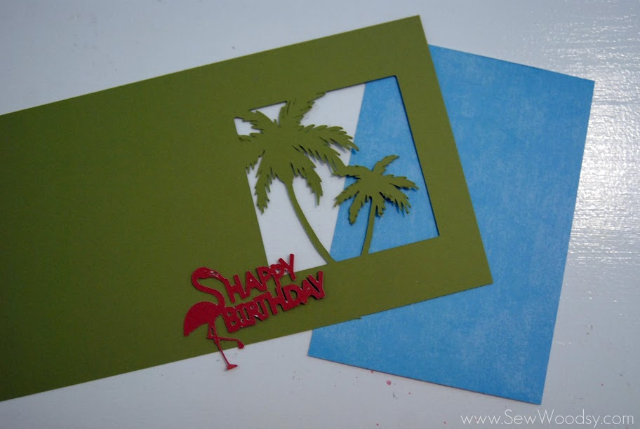 Tropical Birthday Card
