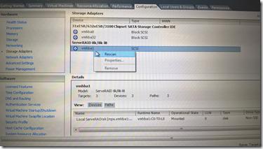 我的學習手記 A technical geek blog: VMware ESXi expanding Datastore