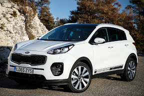 New Sportage looks a winner