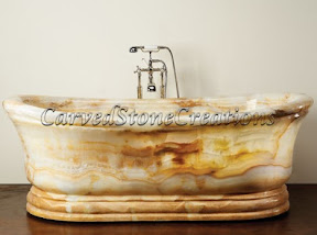 Bath, Bath Tub, Bathtub, Ideas, Interior, Kitchen & Bath, Natural, Onyx, Stone, Tubs