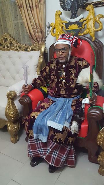 Nnamdi Kanu Bags Chieftaincy Title In Ohafia, Abia (Photos)