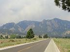 Heading up Table Mesa Drive
