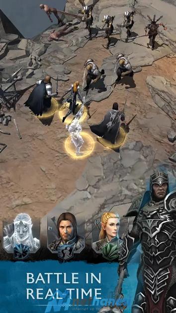 Middle- Earth Shadow of War Android İçin de Yayınlandı