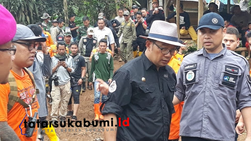 Ridwan Kamil Sebut 550 Kasus Longsor di Jawa Barat