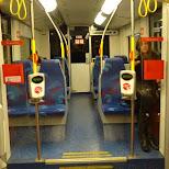 taking the metro back in Den Haag, Zuid Holland, Netherlands