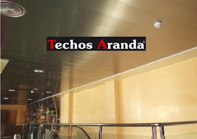 Profesional de techos de aluminio para cocinas Madrid