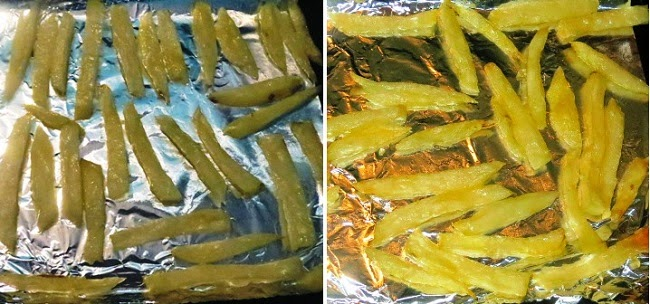 """Baked French Fries Recipe 