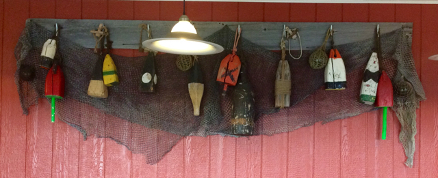 Nautical decor wall display