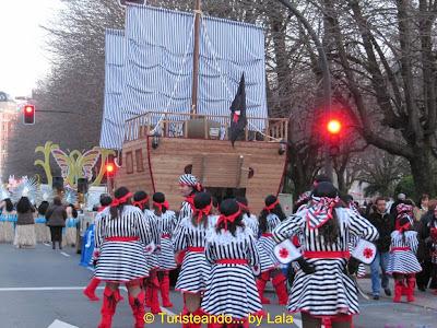 cabalgata carnaval leon