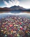 McDonald Montana Gölü ABD  - Lake McDonald Montana USA