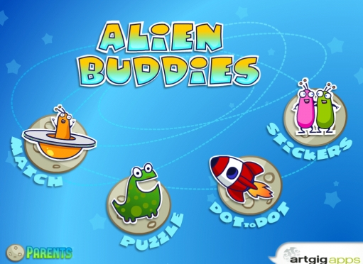 Alien Buddies Main Page
