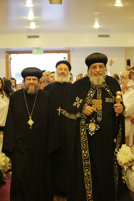His Holiness Pope Tawadros II visit to St. Mark LA - _09A9039.JPG