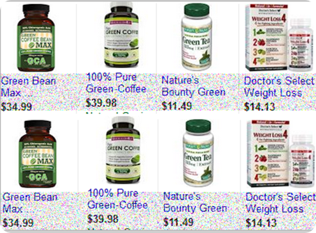 Pure Green Coffee Bean supplement price list