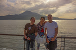 The crew at Tansui, Taipei