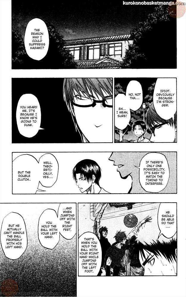 Kuroko no Basket Manga Chapter 62 - Image 15