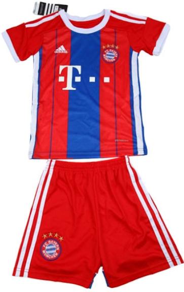 Jersey Kids Bayern Munchen Home 2014-2015