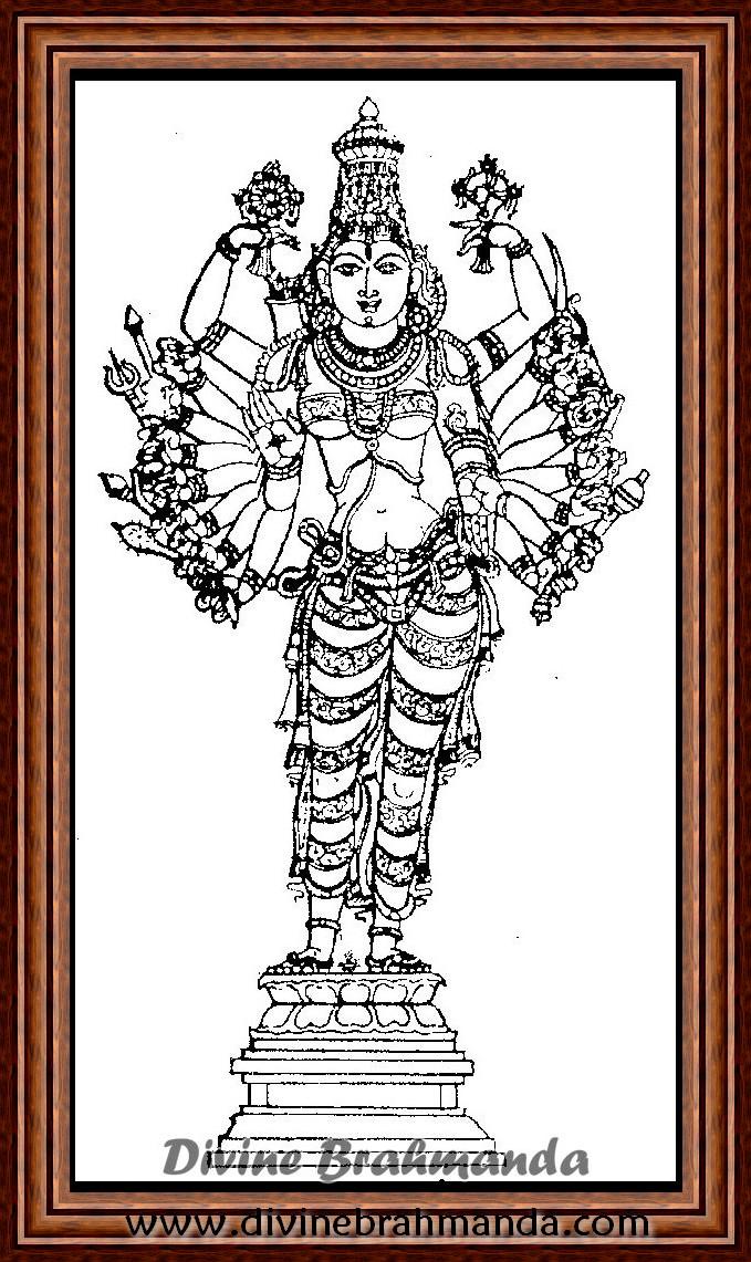 Soundarya Lahari Sloka, Yantra & Goddess To Get Peace Of Mind - 96