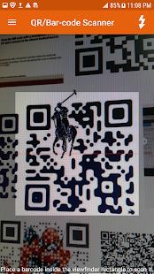 QR Code Scanner - Barcode Reader, QR-Bar Hangouts - náhled