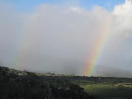 Its a double rainbow!...