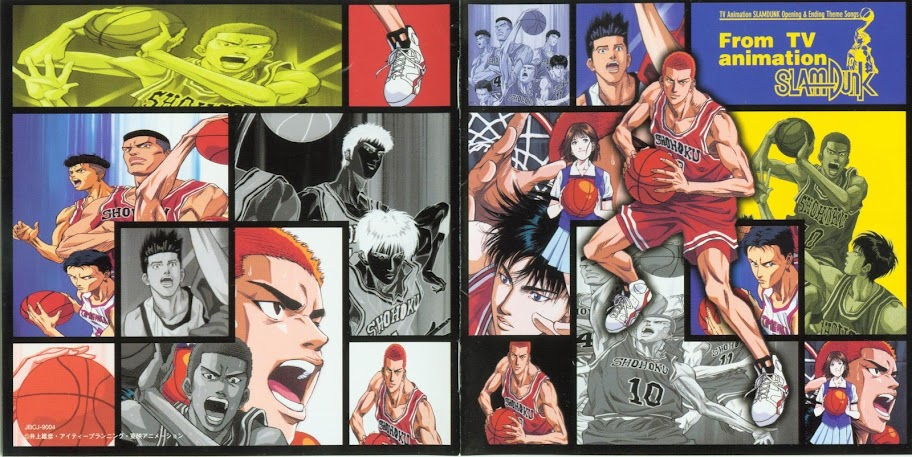 [MUSIC VIDEO] V.A. – THE BEST OF TV ANIMATION SLAM DUNK -single Collection- (2003.07.21/DVDISO/1.51G…