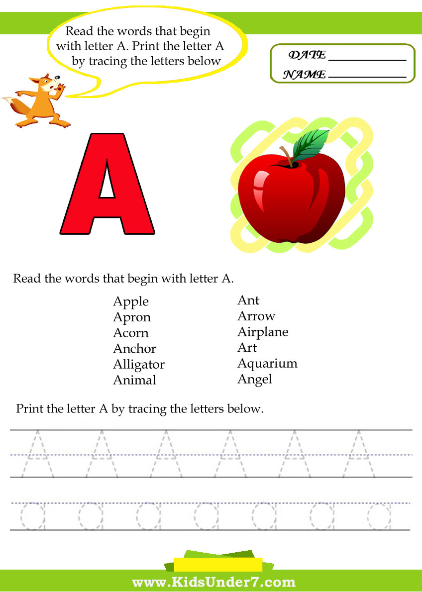 What are some common words beginning with the letter I?