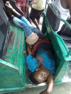 Pure Water Seller Killed By Rivers State Policeman For Not Observing Sanitation (Graphic Photos)