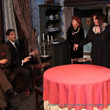 Daniel Martin, Matthew Surman, Cindy Welch and Debbie May in ARSENIC AND OLD LACE (R) - May 2011.  Property of The Schenectady Civic Players Theater Archive.