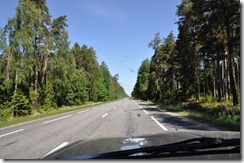 1 route vers Tallin