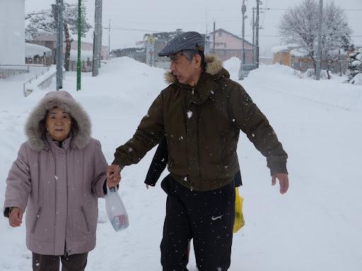 北竜町は冬です